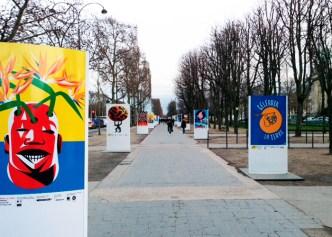 """Exposição """"Célébrer la Terre"""" com a participação de vários paises do mundo - JCDecaux"""