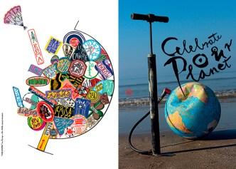 """Exposição """"Célébrer la Terre"""" Tokio e França"""