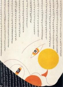 "Projeto do poster por ""Shujiro Shimomura"" de 1928"