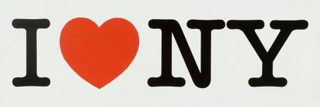 Milton Glaser, I love NY, 1976
