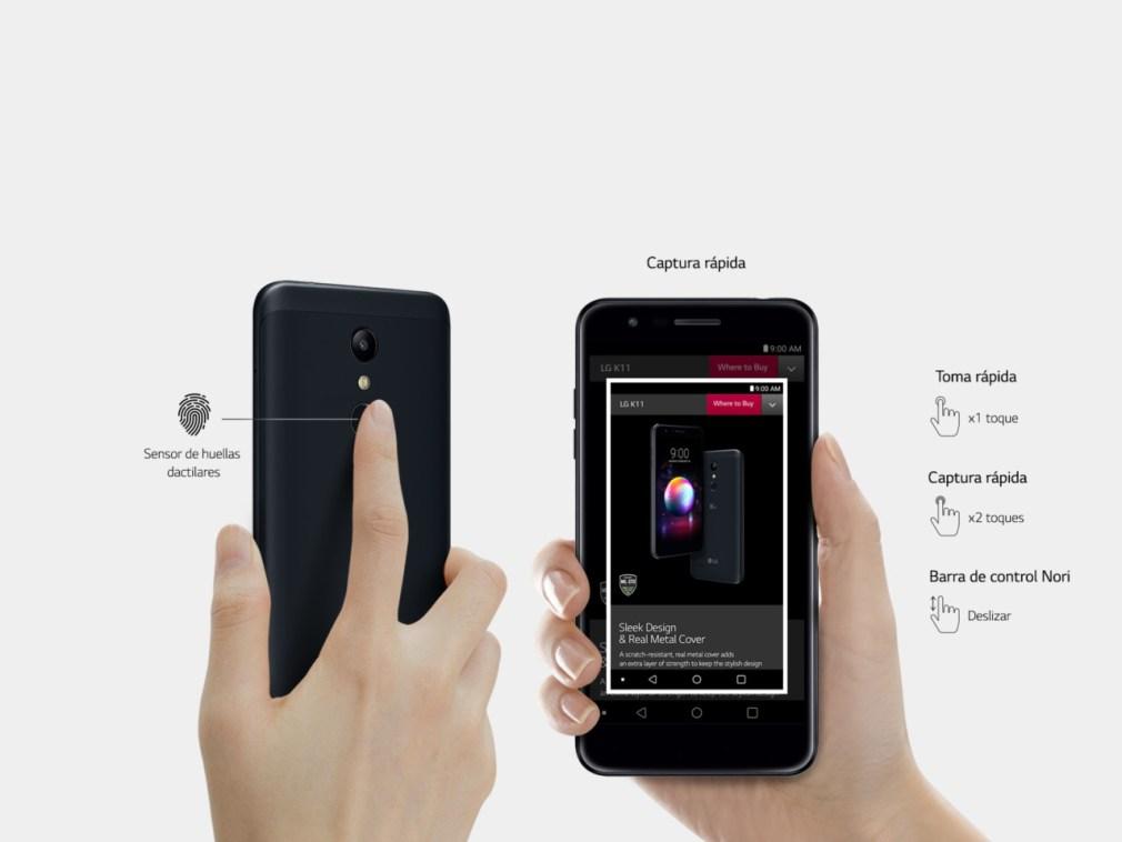K11 Sensor Digital / Fonte: Site Oficial da LG