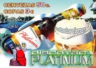 Cartel Discoteca Platinium, Photoshop