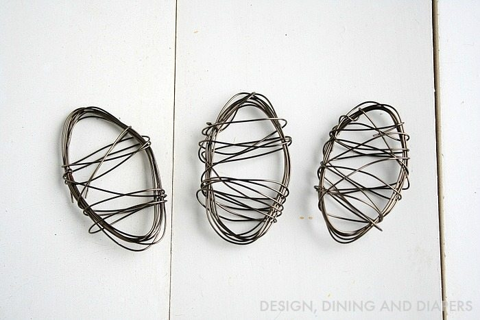 Wire Easter Eggs