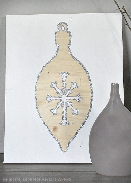 DIY Ornament Art on Wood