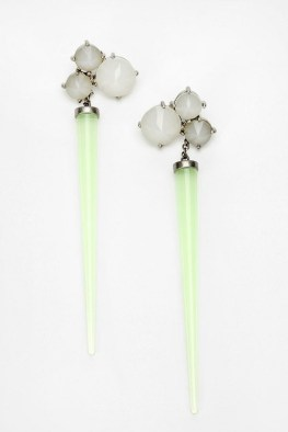 URBAN OUTFITTERS, Wanderlust Live Forever Earrings, $65