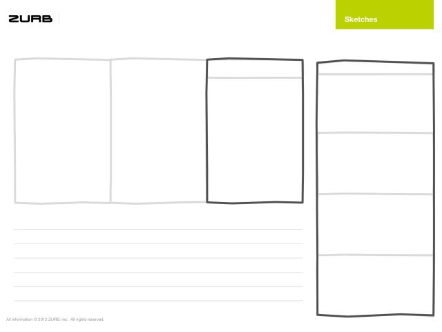Responsivní šablony pro skicování od ZURB