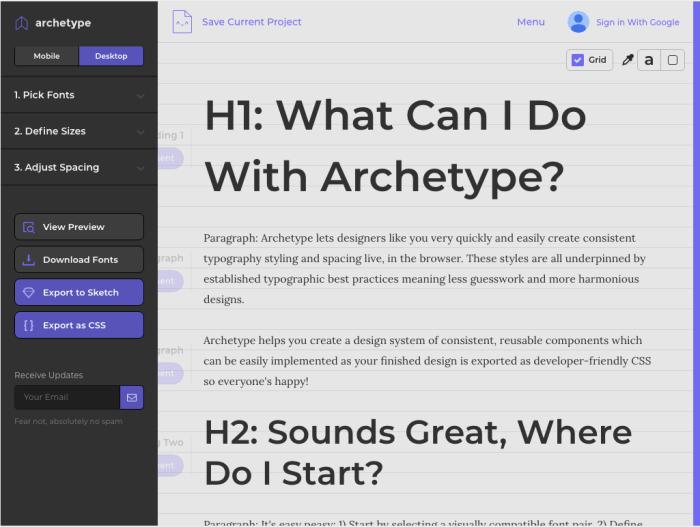 Díky nástroji můžete nastavit, spravovat a exportovat typografická pravidla s využitím vizuálního editoru.