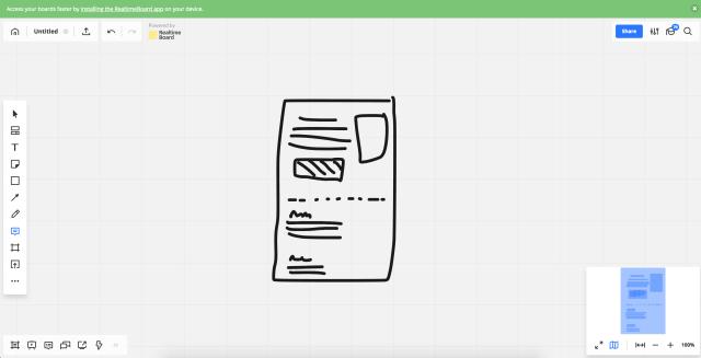 Online skicování, například pro Remote Design Studio nebo Sketch Storm.