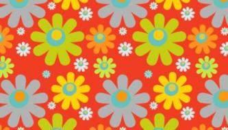 цветочные паттерны
