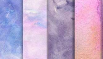 акварельные текстуры