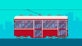 Создаем иллюстрацию трамвая в Adobe Illustrator