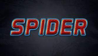 Текстовый эффект в стиле Спайдермена в Photoshop