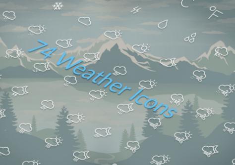 скачать бесплатно иконки погоды
