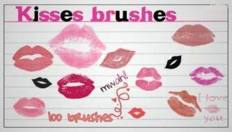 Подборка кистей для фотошоп - женские губы