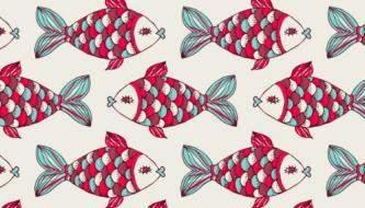 Коллекция Паттернов - Рыбки для вашего дизайна