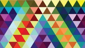 Большая коллекция Треугольных паттернов для дизайнеров