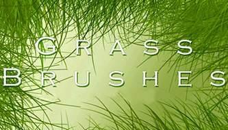 Подборка кистей для фотошоп - Трава