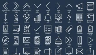 Коллекция бесплатных иконок для веб и графического дизайна