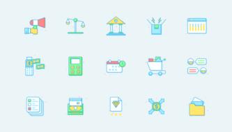 Новая подборка иконок для дизайнера