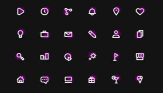 Набор иконок в коллекцию каждому дизайнеру