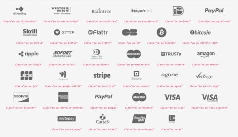 бесплатные иконки для оплаты