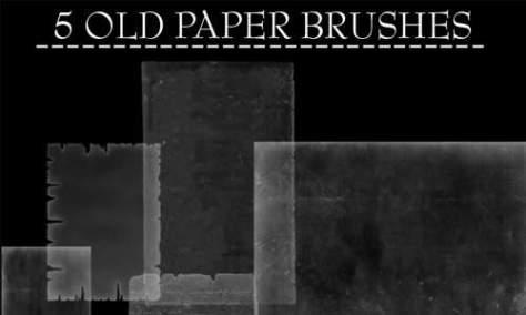 Очаровательные бумажные кисти