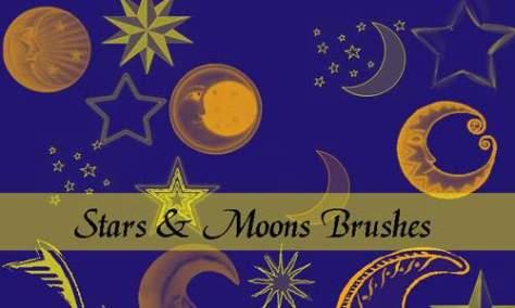 Элегантно прекрасные Лунные Кисти
