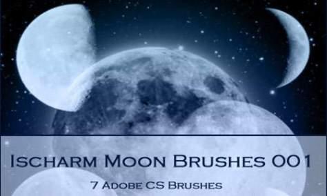 Вдохновляющие лунные кисти