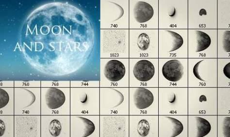 Увлекательные Лунные Кисти