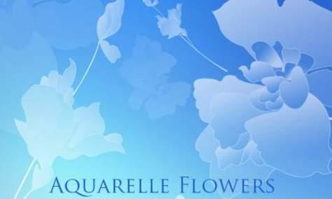 Вдохновляющие цветочные кисти для фотошопа