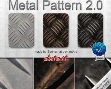 металл-фотошоп-паттерн