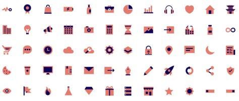 Яркий бесплатный набор иконок