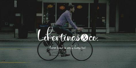 Бесплатный шрифт Libertinas