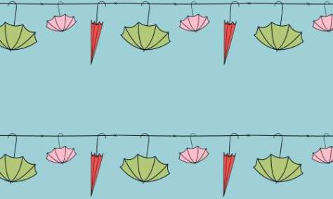 Счастливый зонтик