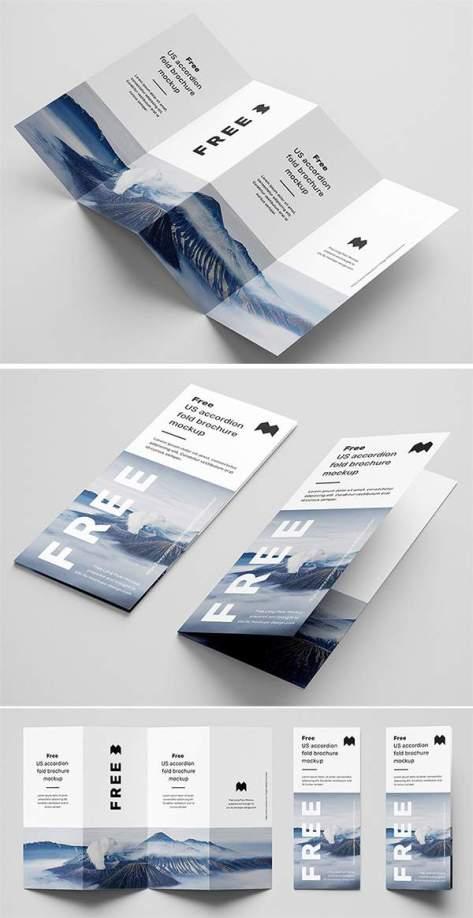 Скачать бесплатно элегантный макет брошюры высокого качества PSD