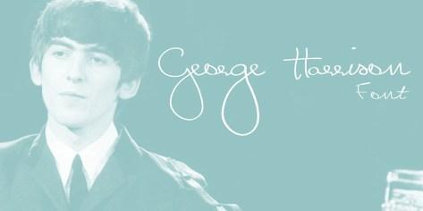 George Harrison Font