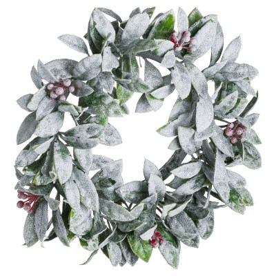 Medium Frosted Candle Wreath