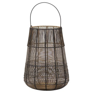 Large Wire Glowray Conical Lantern