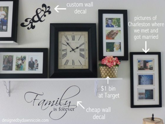 How to Create a Shelved Gallery Wall