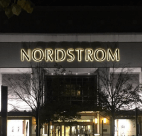 Nordstrom at night Architecture architectural lighting