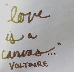 DBKWORDS, Voltaire, Quotes, Motivation, Love, Canvas, Inspiration