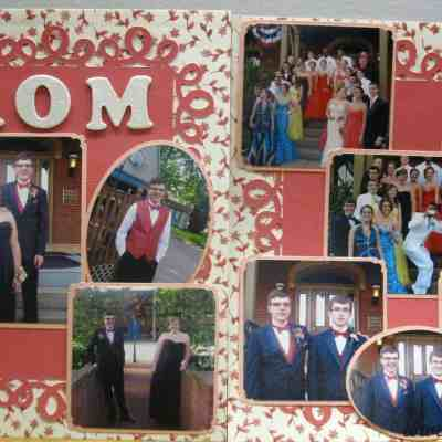 Completed The Third Sons Scrapbook!