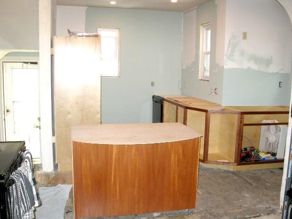 Building custom cabinets