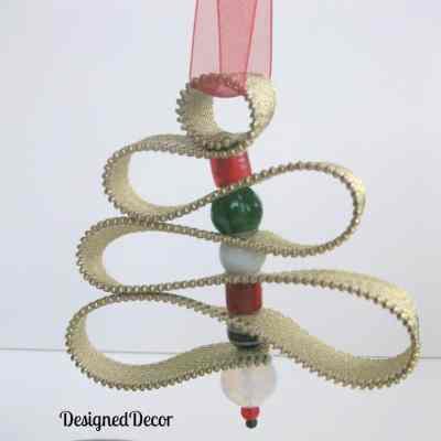 Zippered Christmas Tree Ornament!