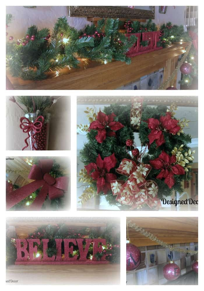 Christmas Mantle 001