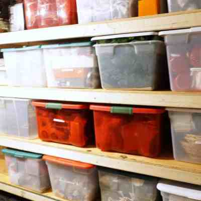 Basement Organization and Building Storage Shelves – Part 1!