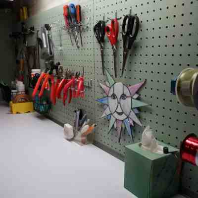 Basement  Organization and Updating the Workspace- Craft Room – Part 2