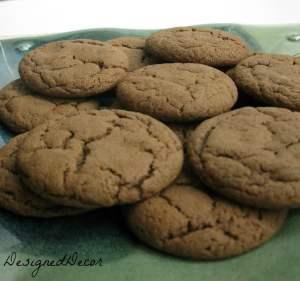 molasses cookies 044