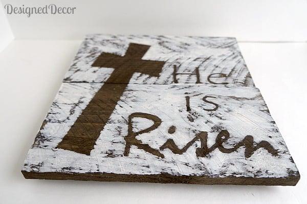 He is Risen Plaque 2
