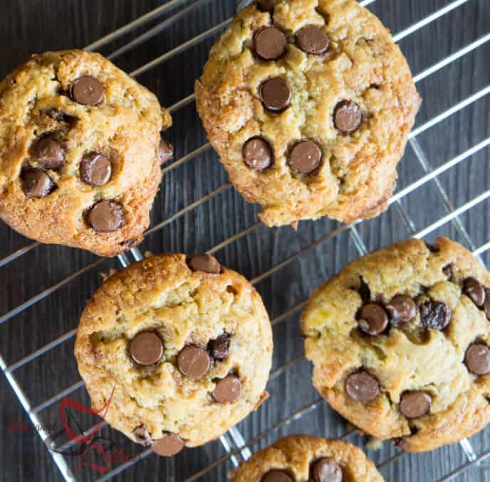 Banana Chocolate Chip Muffins - Muffin Recipe-